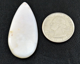 Genuine 33.00 Cts Pink Opal Cabochon