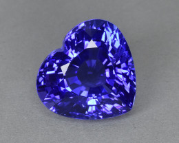 7.23 Cts Gorgeous Wonderful Heart Shape Natural Tanzanite