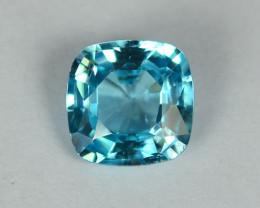 2.00 Cts Stunning Lustrous Cambodian Blue Zircon
