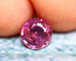 Spinel 1.10Ct Mogok Spinel Natural Burmese Pink Purple Spinel  D1212