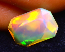 Welo Opal 1.63Ct Natural Ethiopian Play of Color Opal DR15
