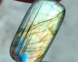 LABRADORITE GEMSTONE CABOCHON NATURAL+UNTREATED VA4641