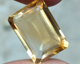 12.85 CT A+++ QUALITY CITRINE RARE HUGE SIZE Natural+Untreated VA4657