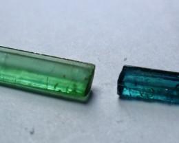 6.10 Cts Beautiful, Superb  Green Tourmaline Crystal Rough Lot