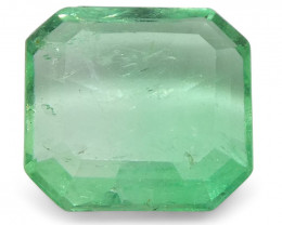 0.75 ct Square Emerald Colombian