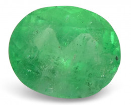 0.95 ct Oval Emerald Colombian