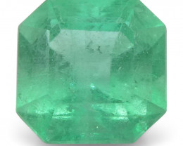 0.58 ct Square Emerald Colombian