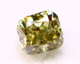 Green Diamond 2.80mm Genuine VS2 Vivid Rare GREEN Diamond A1216