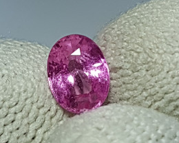 0.92 CTS NATURAL STUNNING OVAL MIX PINK SAPPHIRE FROM SRI LANKA