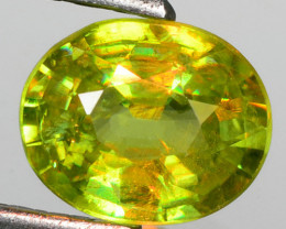 1.45 Cts EXCELLENT COLOR CHANGE NATURAL SPHENE