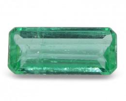 0.59 ct Baguette Emerald Colombian