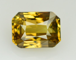 GIA Cert~7.06 Ct Natural Color Change Alexanderite Gemstone