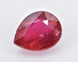 2.46 Crt Composite Ruby Faceted Gemstone (Rk-67)