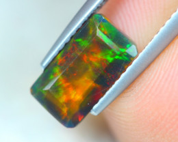 1.27ct Natural Ethiopian Welo Solid Smoked Opal Lot GW5373