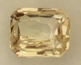 Pretty Yellow Untreard Ceylon Sapphire - Sri Lanka H621
