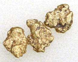 1.90 CTS ALASKAN MONTANA CREEK GOLD NUGGET TBG-3305