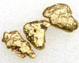 2.27 CTS ALASKAN MONTANA CREEK GOLD NUGGET TBG-3313