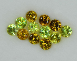 2.362 Cts Stunning Lustrous 3.5mm Sphene Lot