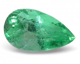 0.82 ct Pear Emerald Colombian
