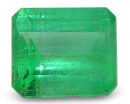 0.52 ct Emerald Cut Emerald Colombian