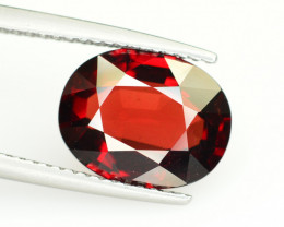Reddish Orange Color 4.30 Ct Natural Spessartite Garnet.