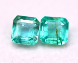Emerald 1.32Ct Natural Zambian Green Color Emerald B1322