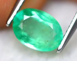 Emerald 1.14Ct Natural Zambian Green Color Emerald B1337