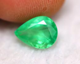 Emerald 1.58Ct Natural Zambian Green Color Emerald BN01