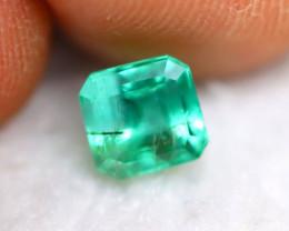 Emerald 1.30Ct Natural Zambian Green Color Emerald BN02