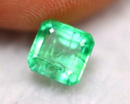 Emerald 1.51Ct Natural Zambian Green Color Emerald BN10