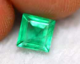 Emerald 1.05Ct Natural Zambian Green Color Emerald BN11