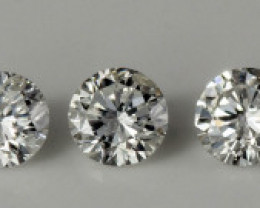 1.65 mm Diamond Si2/D-F 0.16 ct Real description