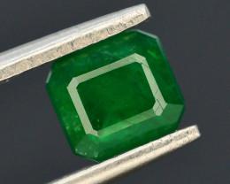 AAA Grade 1.15 ct Natural Vivid Green Color Emerald~Swat ~ G AS
