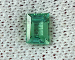 0.90 Cts Beautiful, Superb  Green Tourmaline Gemstone