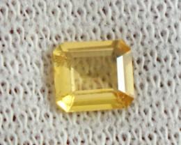 0.90 CT Natural  Beautiful  Yellow Heliodor Gemstone