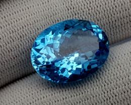 22CT BLUE TOPAZ BEST QUALITY GEMSTONE IIGC82
