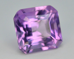 Top Color 4.55 ct AAA Cut Untreated Amethyst