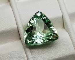 7.55Crt Green Spodumene Natural Gemstones JI70