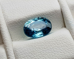 1.95Crt Blue Zircon Natural Gemstones JI70