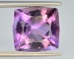 Top Color 7.25 ct AAA Cut Untreated Amethyst