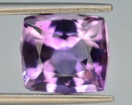 Top Color 4.90 ct AAA Cut Untreated Amethyst