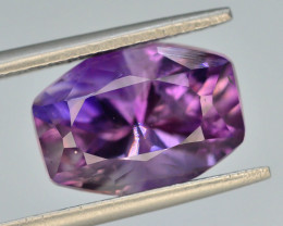 Top Color 4.60 ct AAA Cut Untreated Amethyst