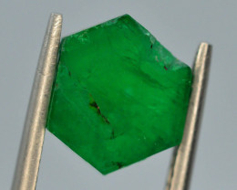 AAA Grade 2.65 ct Natural Emerald Slice ~ Swat ~ G AS