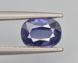 Top Rare Natural Sapphire 1.61 Cts from Kashmir, Pakistan