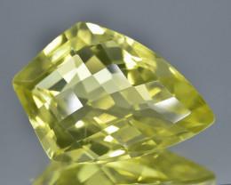9.36 Crt Natural Lemon Quartz Faceted Gemstone.( AB 12)