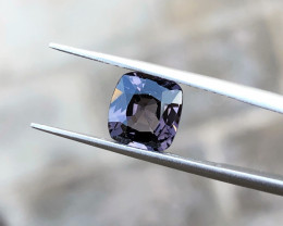 2.05 Ct Natural Purple Gray Transparent Spinal Gemstone