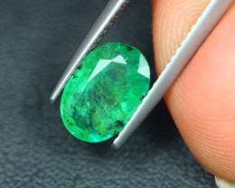 2.07Ct Natural Zambia Green Emerald Lot V5149