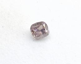 0.15ct Fancy Pink Purple  Diamond , 100% Natural Untreated