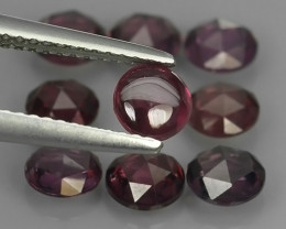 5.25 CTS~EXQUISITE NATURAL UNHEATED PURPLE COLOR RHODOLITE GARNET CAB