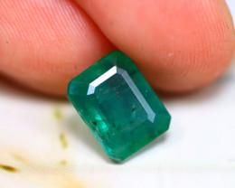 Emerald 2.46Ct Natural Colombia Green Emerald D1402